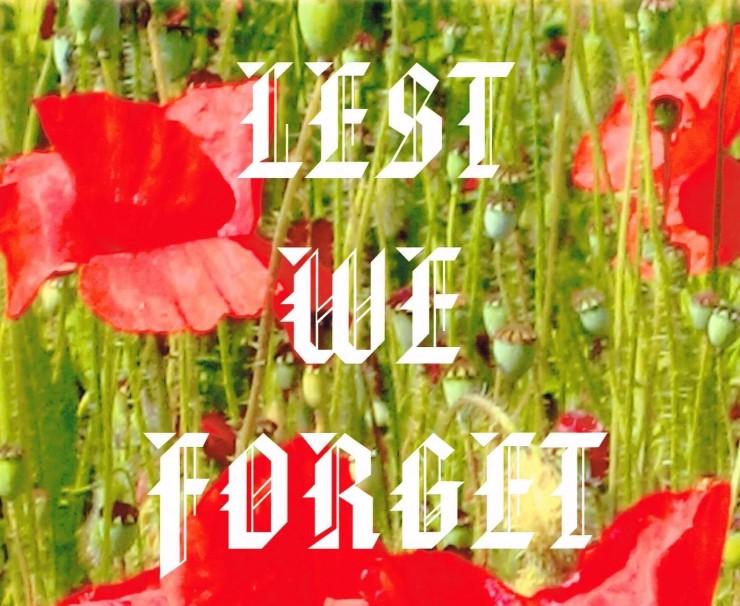 lest we forget - Copy